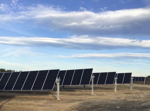 A community solar project funded by Generate and Starbucks is providing 2.9 MWdc of clean energy and additional energy storage capacity in Dutchess County, New York. Source: Cypress Creek Renewables