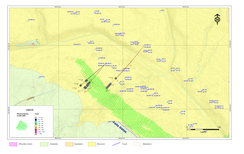 Figure 3: NW Zone Drill Hole Map (Graphic: Business Wire)