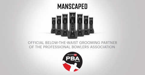 MANSCAPED slicks down the lanes at the PBA's upcoming series of highly anticipated tournaments. (Graphic: Business Wire)