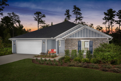 KB Home announces the grand opening of Hudson Cove, a new-home community in North Jacksonville, priced from the $270,000s. (Photo: Business Wire)