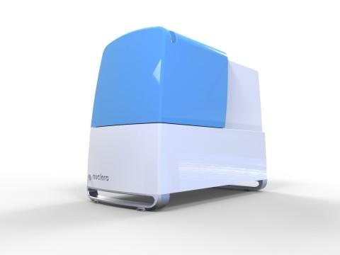 デジタル・マイクロフルイディクス技術を採用したニュークレラの卓上バイオプリンター(写真:ビジネスワイヤ)