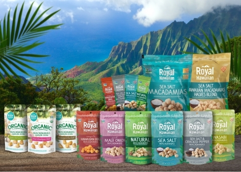 Royal Hawaiian Orchards' complete product line (Photo: Business Wire)
