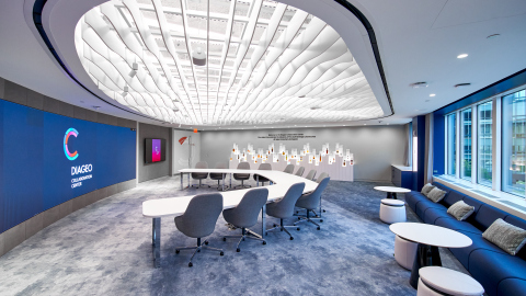 Diageo Collaboration Center central collaboration room (Photo: Business Wire)
