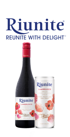 Riunite Expands Line of Portable Drinks with the Launch of Lambrusco Cans and Unveils a Complete Redesign Across the Entire Portfolio (Photo: Business Wire)