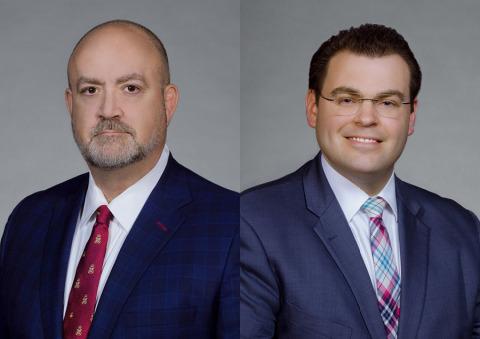 Dale G. Mullen & Michael H. Brady (Photo: Business Wire)