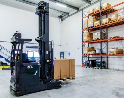 Balyo Selects Ouster's Digital Lidar for Its Robotic Forklifts (Photo: Business Wire)