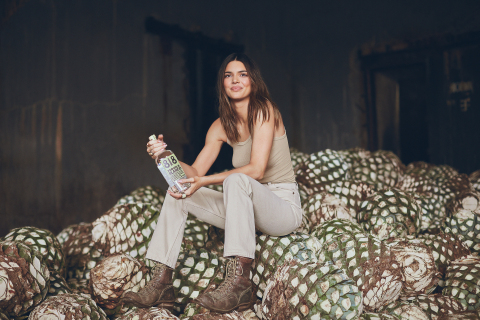 Kendall Jenner with her 818 Tequila (Photo: Business Wire)