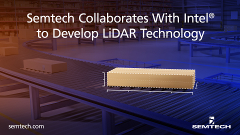 Semtech's optical semiconductor devices are integrated into the Intel® RealSense™ LiDAR Camera L515 (Photo: Business Wire)