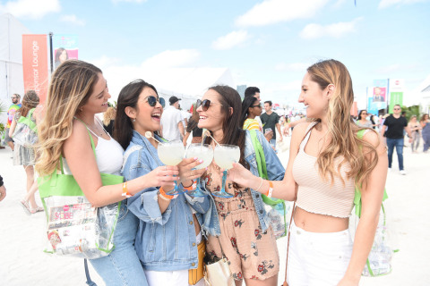 SOBEWFF® guests enjoying refreshing libations (Photo: Business Wire)