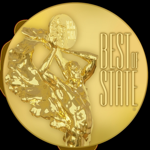 Code Corporation wins best of state award in production and manufacturing category for CodeShield Plastic. (Graphic: Business Wire)