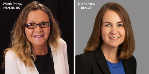 Wanda Prince, Senior Vice President, Government Affairs and Erin Pope, Senior Vice President, Chief Legal and Compliance Officer for Golden LivingCenters - Indiana (Photo: Business Wire)