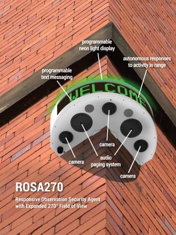 RAD announces ROSA270, a breakthrough in autonomous security devices (Photo: Business Wire)
