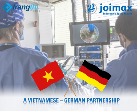 joimax® Enters the Vietnamese Market, Partners with Trang Thi Medical Company Limited (Graphic: Business Wire)