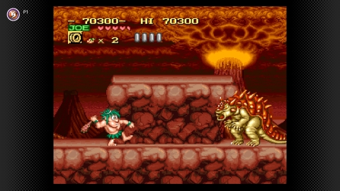 Leap to the rescue with these radically retro pair of cave-dudes on May 26 as Caveman Ninja (also known as Joe & Mac) joins the Super Nintendo Entertainment System – Nintendo Switch Online library! (Graphic: Business Wire)
