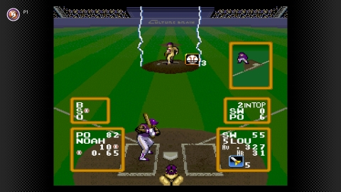 Get ready for a high intensity, superhuman game of baseball when Super Baseball Simulator 1.000 arrives on May 26 to the Super Nintendo Entertainment System – Nintendo Switch Online library. (Graphic: Business Wire)