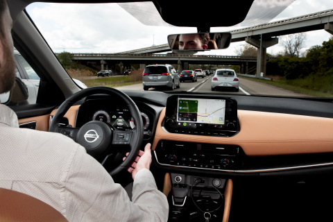 This intern sat in the worst U.S. traffic jams to enhance Nissan's ProPILOT Assist system. (Photo: Business Wire)