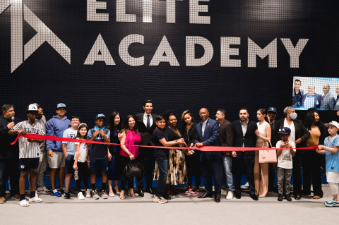 Ribbon cutting ceremony at Elite Academy grand opening. (Photo: Business Wire)
