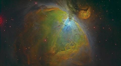 オリオン座大星雲の撮像画像 (写真:ビジネスワイヤ)
