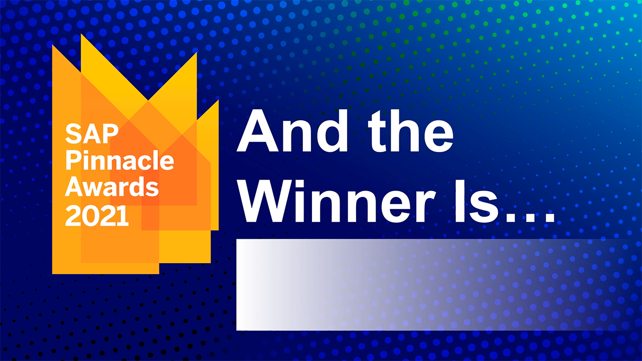 BearingPoint Wins 2021 SAP® Pinnacle Award in the Partner Application of the Year – Industry Cloud Category