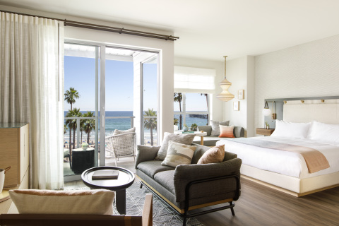 King suite at Mission Pacific Hotel. (Photo: Business Wire)