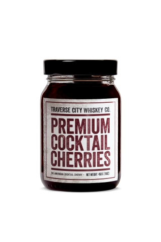 Traverse City Whiskey Co., the portfolio of premium whiskies and bourbon made in Michigan, is pleased to announce that Walmart now stocks its all-natural Premium Cocktail Cherries in more than 1,900 stores nationwide. (Photo: Business Wire)
