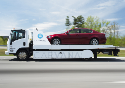 Carvana launches with as-soon-as-next-day vehicle delivery in Olympia. (Photo: Business Wire)