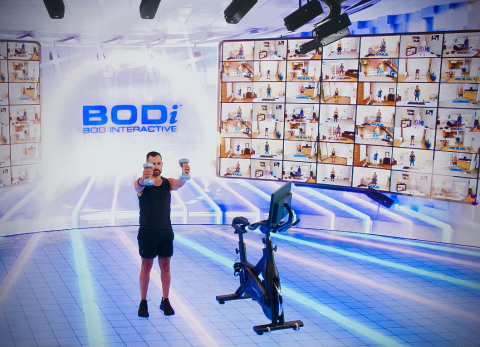 BOD Interactive (BODi), Beachbody's new live interactive content subscription offering, launching in September. (Photo: Business Wire)
