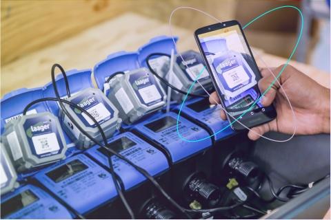 Sabesp smart water meters (Photo: Sigfox)