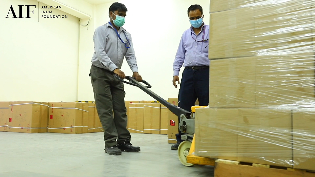 30,000 Ventilators and 13,000 monitors land in India - #AIFCOVID19Response