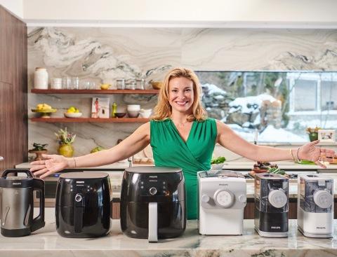 Celebrity Chef Donatella Arpaia Partnership with Philips Domestic Appliances North America (Photo: Business Wire)