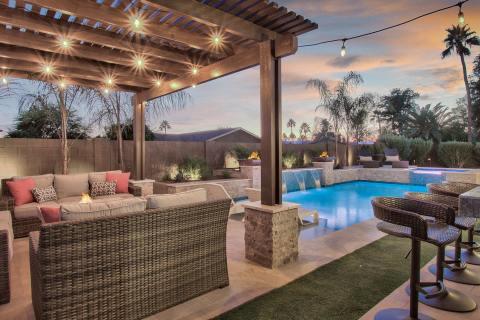Villa Tranquila, a Vacasa vacation rental in Scottsdale, Arizona, now available to book via Homes & Villas by Marriott International. (Photo: Buisness Wire)
