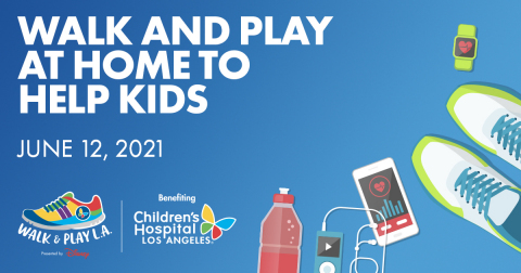 Registrations are open for the Fifth Annual Children's Hospital Los Angeles Walk & Play L.A. event. For more information and to sign up, go to www.walkandplayla.org. (Graphic: Business Wire)