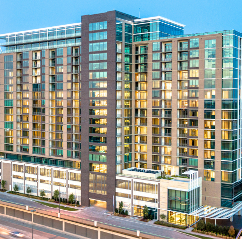 Grand Opening Held at Knox-Henderson Luxury Apartment High-Rise Novē at Knox (Photo: Business Wire)