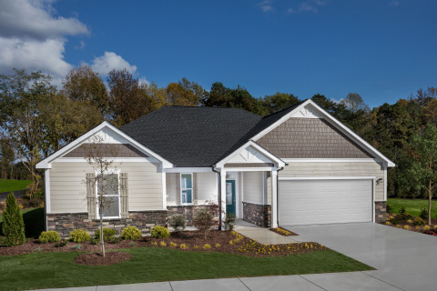 KB Home announces the grand opening of Fishers Ridge, a new-home community in Willow Spring, North Carolina that offers half-acre homesites. (Photo: Business Wire)