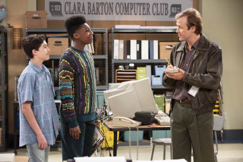 Jackson Dollinger, Christian J. Simon and Josh Duvendeck (Disney Channel/Bonnie Osborne*)