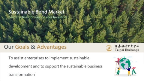 Taipei Exchange launches dedicated sustainable bond segment to further issuing momentum. (Graphic: Business Wire)