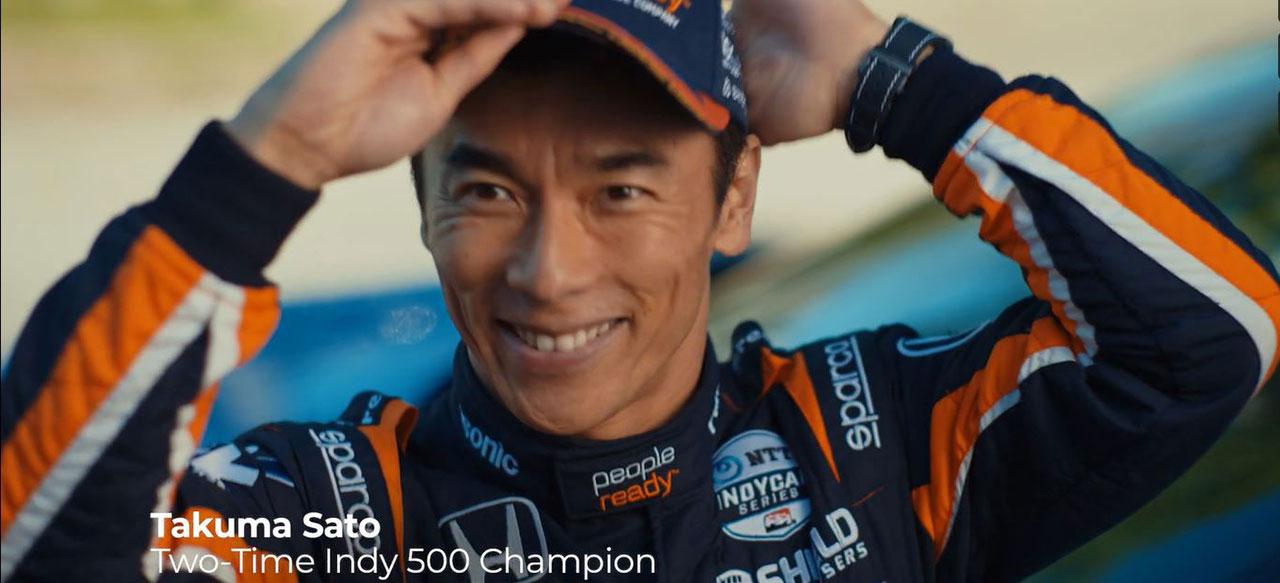 "PeopleReady ""Ride to Work"" Commercial w/ Takuma Sato"