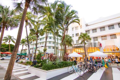 Lincoln Road, Miami Beach, Florida (Photo: Business Wire)