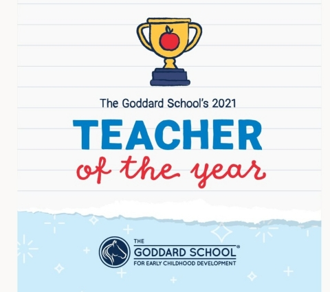 The Goddard School recognizes its 2021 Teachers of the Year (Graphic: Business Wire)
