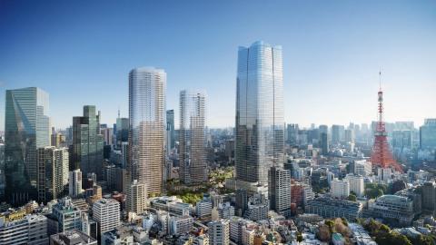 Toranomon-Azabudai Project (Credit: DBOX for Mori Building Co.)