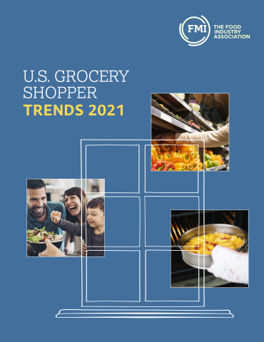 The 2021 U.S. Grocery Shopper Trends report explores how the future of food retail will be colored by the pandemic – driven by shifts in the way consumers purchase groceries. (Photo: Business Wire)