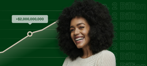 Freelancers on Fiverr Have Earned Over 2 Billion Dollars (Graphic: Business Wire)