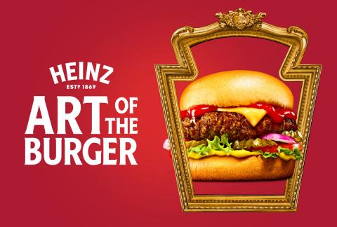 HEINZ Head Burger Artist (Photo: Business Wire).
