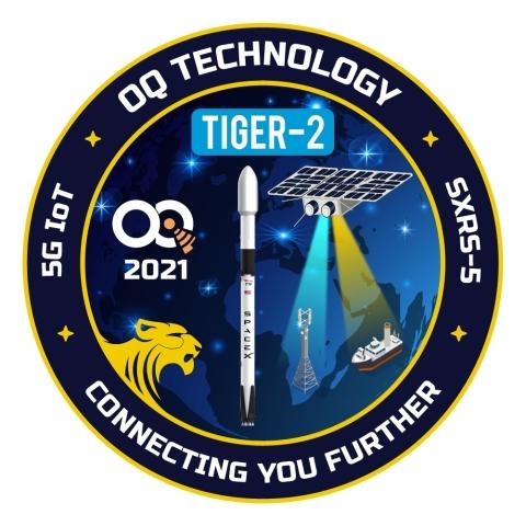 Tiger-2 Mission Patch (Source: OQ Technology & Nanoavionics)