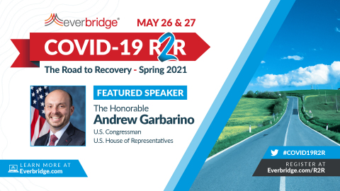 United States Congressman Andrew R. Garbarino to Speak at Everbridge COVID-19: Road to Recovery (R2R) Executive Summit, May 26-27, 2021 (Photo: Business Wire)