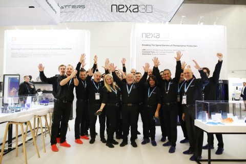 Avi Reichental and the Nexa3D team (Photo: Business Wire)
