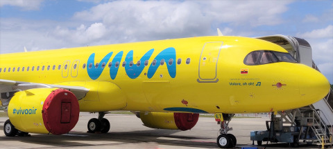 Aviation Capital Group Announces Delivery of Seventh A320neo to Viva Air (Photo: Business Wire)
