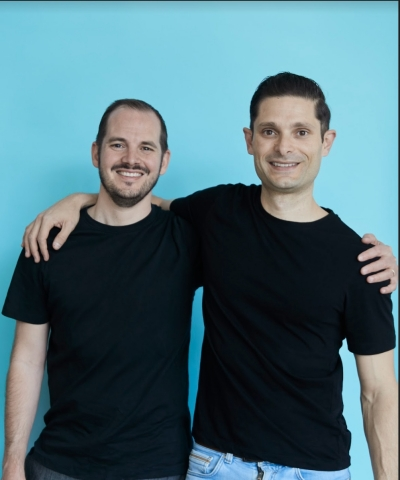 Ledn Co-Founders Adam Reeds (left) and Mauricio Di Bartolomeo (right) (Photo: Business Wire)