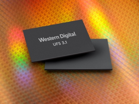 Western Digital's unique UFS 3.1 platform, based on the JEDEC-compliant UFS 3.1 specification, enables storage for new applications in mobile, automotive, IoT, AR/VR, and other emerging technologies. It is expected to deliver up to 90% improvement in sequential write performance, compared to its previous generation. (Photo: Business Wire)