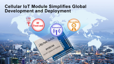Cellular IoT module simplifies global development and deployment (Photo: Business Wire)